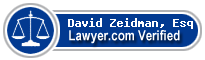 David S. Zeidman  Lawyer Badge
