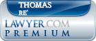 Thomas Charles Peter Re'  Lawyer Badge
