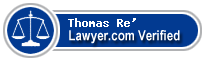 Thomas Charles Peter Re'  Lawyer Badge