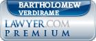 Bartholomew Verdirame  Lawyer Badge