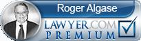 Roger Carl Algase  Lawyer Badge