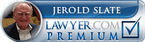 Jerold Stuart Slate  Lawyer Badge