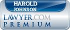 Harold J. Johnson  Lawyer Badge