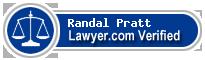 Randal Dennis Pratt  Lawyer Badge