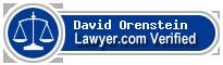 David L. Orenstein  Lawyer Badge