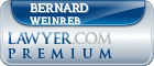 Bernard Weinreb  Lawyer Badge