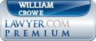 William Robert Crowe  Lawyer Badge