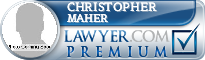 Christopher Xavier Maher  Lawyer Badge