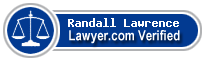 Randall G. Lawrence  Lawyer Badge