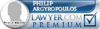 Philip Argyropoulos  Lawyer Badge