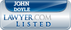 John Doyle Lawyer Badge