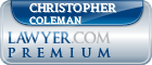 Christopher Sean Coleman  Lawyer Badge