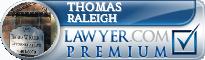 Thomas Raleigh  Lawyer Badge