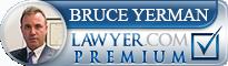 Bruce Yerman  Lawyer Badge