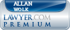 Allan Wolk  Lawyer Badge