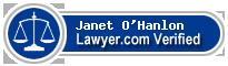 Janet Lynn O'Hanlon  Lawyer Badge
