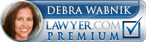 Debra Lynne Wabnik  Lawyer Badge