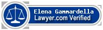 Elena Gammardella  Lawyer Badge
