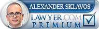 Alexander Edward Sklavos  Lawyer Badge