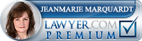 Jeanmarie A. Marquardt  Lawyer Badge