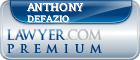 Anthony Michael Defazio  Lawyer Badge