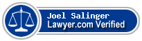 Joel Richard Salinger  Lawyer Badge