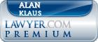 Alan David Klaus  Lawyer Badge