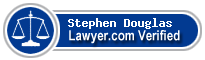 Stephen A. Douglas  Lawyer Badge