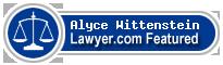 Alyce B Wittenstein  Lawyer Badge