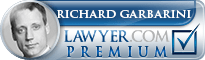 Richard M. Garbarini  Lawyer Badge