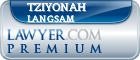 Tziyonah M. Langsam  Lawyer Badge