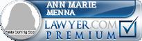 Ann Marie Menna  Lawyer Badge
