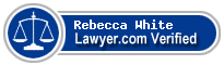 Rebecca Moffat White  Lawyer Badge