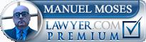 Manuel Brad Moses  Lawyer Badge
