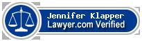 Jennifer Ann Klapper  Lawyer Badge