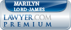 Marilyn Lord-James  Lawyer Badge