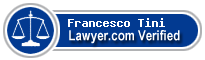 Francesco Paolo Tini  Lawyer Badge