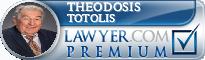 Theodosis John Totolis  Lawyer Badge