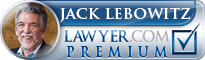Jack Richard Lebowitz  Lawyer Badge