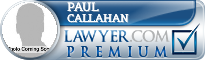 Paul M. Callahan  Lawyer Badge