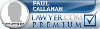 Paul M. Callahan  Lawyer Badge