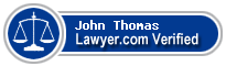 John M. Thomas  Lawyer Badge