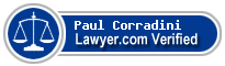 Paul Robert Corradini  Lawyer Badge