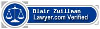 Blair R. Zwillman  Lawyer Badge