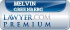 Melvin Greenberg  Lawyer Badge