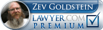 Zev Goldstein  Lawyer Badge