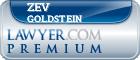 Zev Goldstein  Lawyer Badge