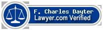 F. Charles Dayter  Lawyer Badge