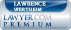 Lawrence H. Wertheim  Lawyer Badge