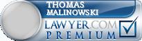 Thomas E. Malinowski  Lawyer Badge